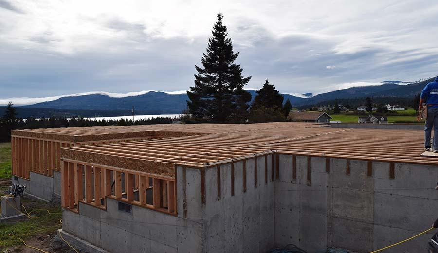 Anderson Homes - Foundation & Framing