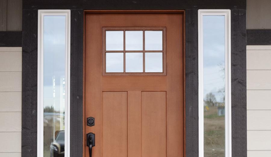 Green Crow Construction: Codel Fir Grain Door